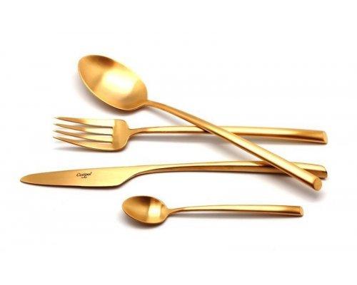 Набор столовых приборов Cutipol MEZZO GOLD мат. на 6 персон 24 предмета
