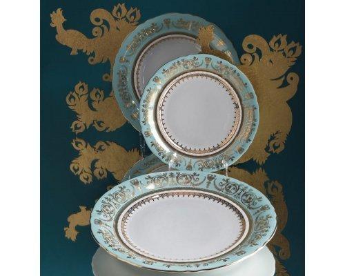 Тарелка мелкая 25см Rudolf Kampf Национальные Традиции 238В