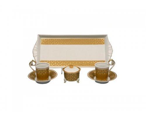 Подарочный набор чайный Rudolf Kampf Тет-а-тет A859 на 2персоны в подарочном коробе