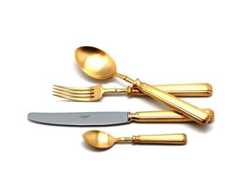 Набор столовых приборов PICCADILLY GOLD матовый 130 предметов