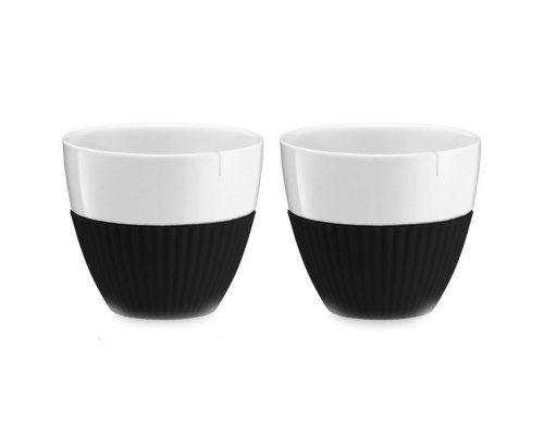 Чайный стакан 0,3 л Viva Scandinavia Anytime Черный (2шт)