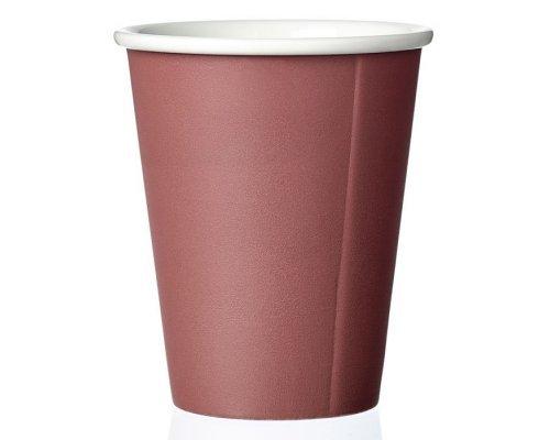 Чайный стакан 0,2 л Viva Scandinavia Laurа Бордовый