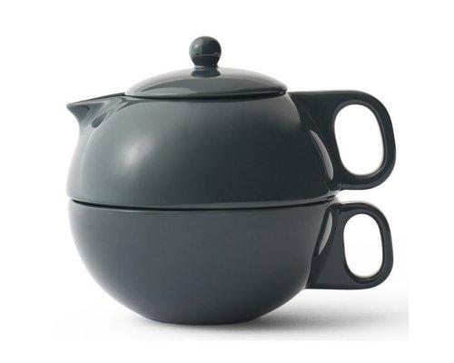 Чайный набор на одну персону 0,3 л Viva Scandinavia Jaimi Темно-зеленый 2 предмета