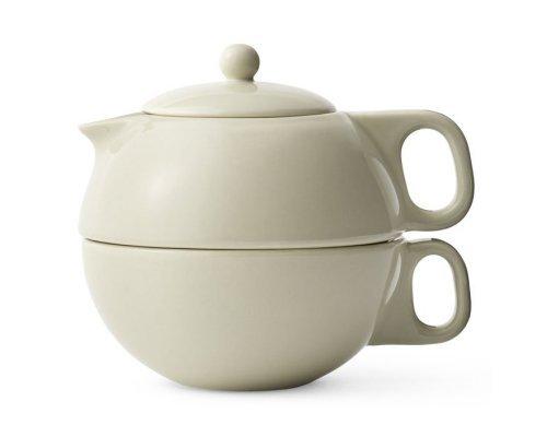 Чайный набор на одну персону 0,3 л Viva Scandinavia Jaimi Бежевый 2 предмета