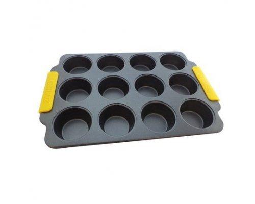 Форма для 12 маффинов 38,5х26х3,2 см Amalfi Zanussi